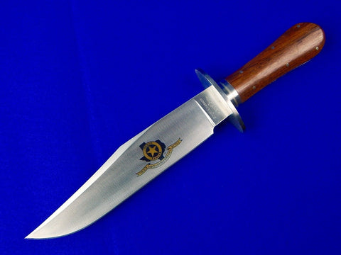 Seki Japan STEWART TAYLOR Made 2003 Custom SMITH & WESSON Bowie Fighting Knife