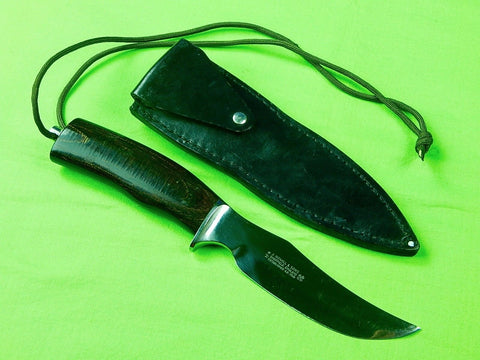 Sheffield England English British JOSEPH NOWILL & Sons Hunting Knife & Sheath