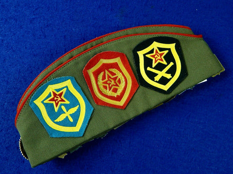 Vintage Soviet Russian Russia USSR Officer's Hat Garrison Cap Badge Pin Patch