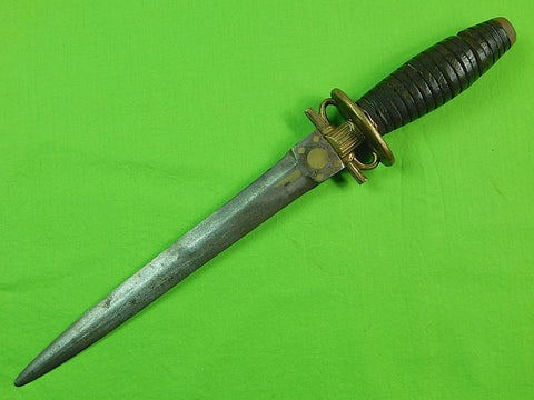 Antique Custom Hand Made Sword Blade Spanish Style Huge Stiletto Fighting Knife