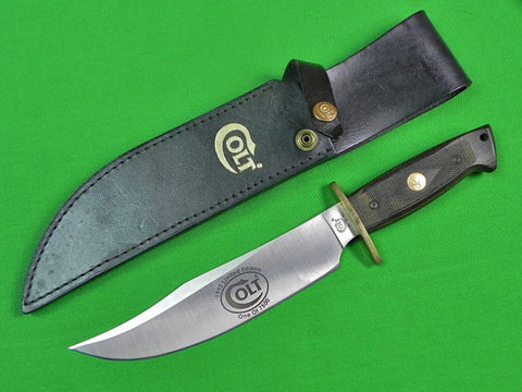 US 1993 COLT Limited Edition Bowie Fighting Knife w/ Sheath