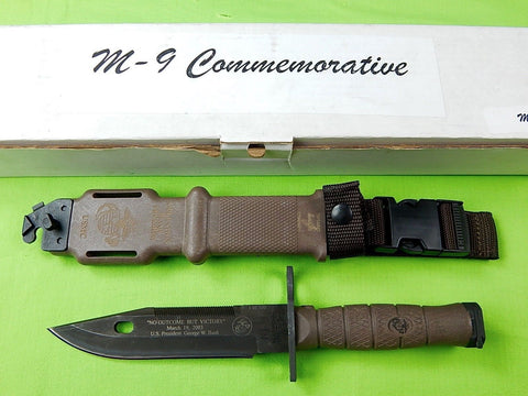 US 2003 ONTARIO Limited Commemorative Bayonet Fighting Knife Scabbard Box