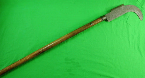 HUGE Antique US Civil War Period Hooked Cleaver bill hook hatchet Butchers Knife