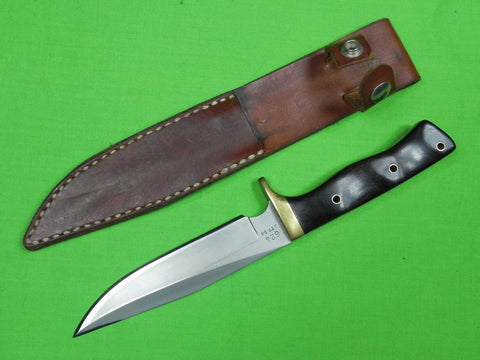 US Custom Hand Made ROB DAVIDSON Fighting Knife & Sheath