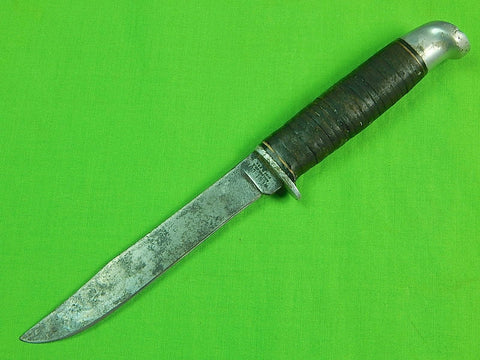 Vintage US Early WESTERN WEST-CUT Boulder Colorado K-1 Fighting Hunting Knife