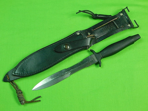 US GERBER 1978 MK2 Commando Fighting Knife # 69546 & Sheath