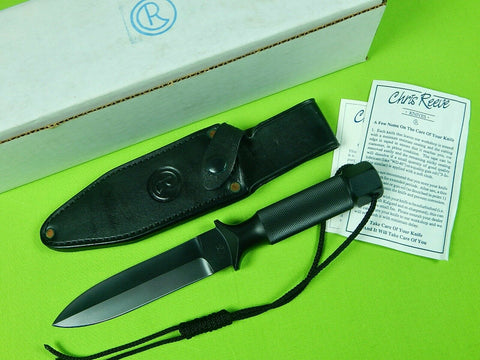 1991 US Limited Edition #16 of 25 Chris Reeve Double Edged Dagger Knife & Sheath