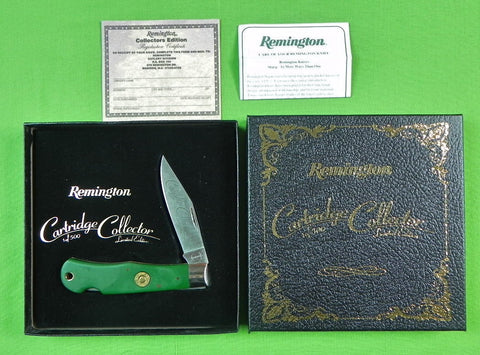 US REMINGTON Cartridge Collector Limited 1/500 Lock Back Folding Pocket Knife