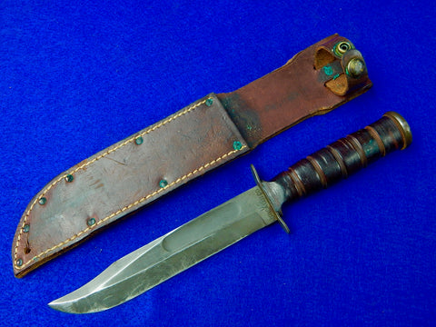 US Vietnam Era Utica MK2 Fighting Knife with Sheath