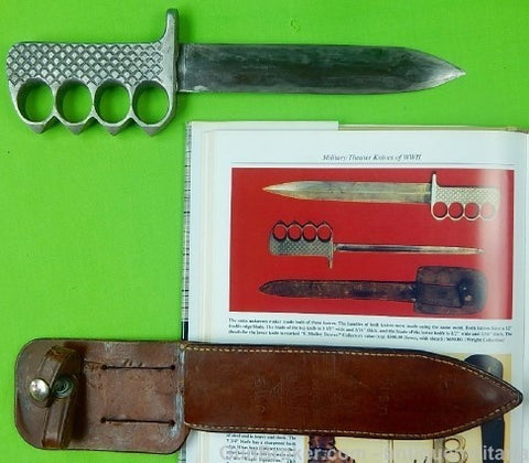 US WW2 Theater Fighting Knuckle Knife Dagger ()