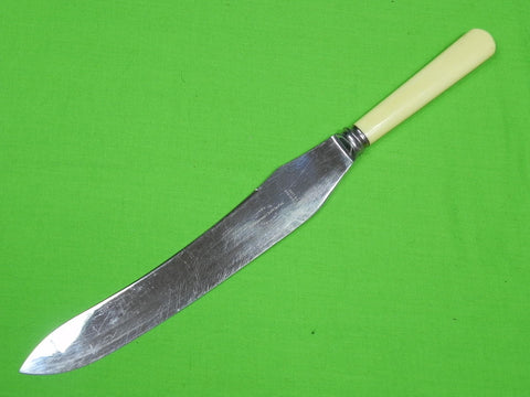 Vintage VINERS Sheffield English British Huge Chef's Kitchen Cutlery Knife