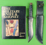 Vietnam Era Tailand Tai Large Combat Fighting Knife Copy of US Pilot Survival