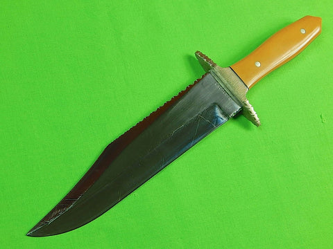Vintage 1950-60's Custom Hand Made Bowie Fighting Knife