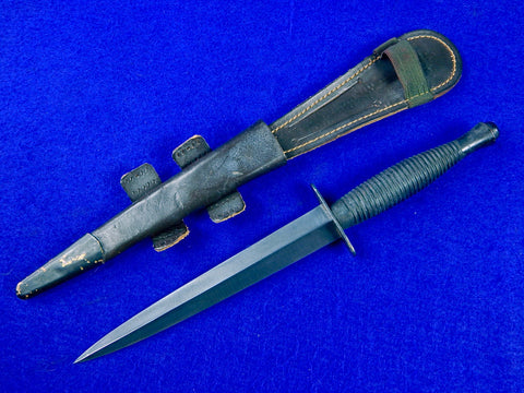 Vintage 1983 British English Sheffield Military Fairbairn Sykes Fighting Knife
