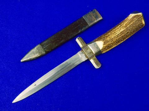 Vintage Antique Custom Made French France English British Fighting Knife Dagger