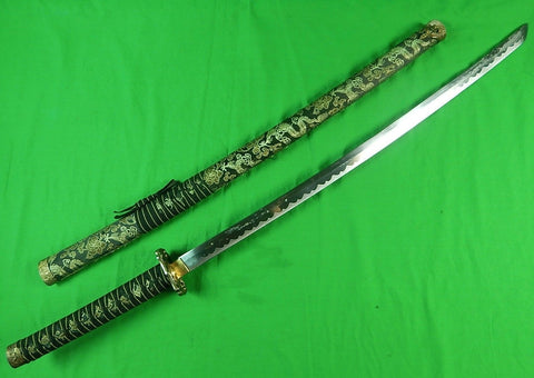 Vintage China Made Japanese Japan Souvenir Decorative Katana Sword w/ Scabbard