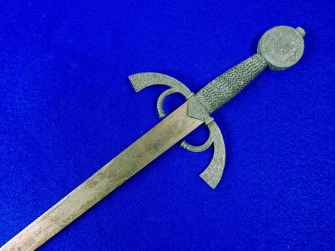 Vintage Old Decorative Short Sword Military Home Decor