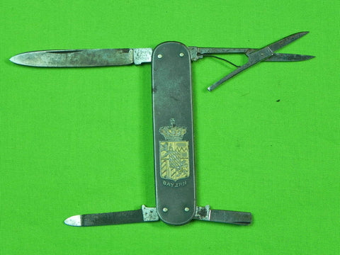 Vintage German Germany F. WIDMANN Munchen Folding Pocket Knife