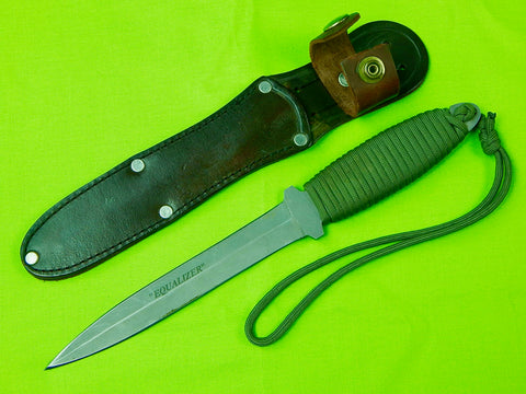 Vintage US Equalizer Commando Fighting Knife & Sheath