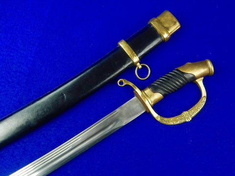 Replica Soviet Russian Russia USSR Union post WWII WW2 Shashka Sword w/ Scabbard