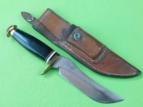 Custom Hand Made J.N. John Nelson COOPER Bianchi Hunting Fighting Knife Sheath *