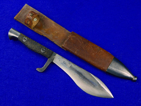 Spanish Spain WW2 Vintage Commando Fighting Knife Knives w/ Scabbard