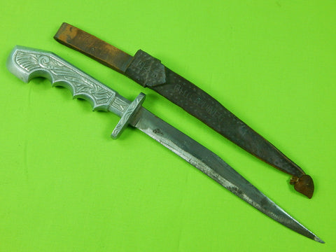 Philippines Philippine Vintage Old WW2 Fighting Knife w/ Sheath