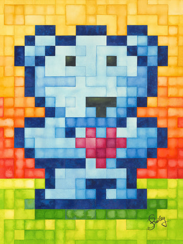 """Husbear"" — 18x24in. and  9x12in. Gicleé reproductions"