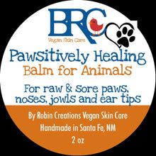 Healing Balm for Paws Noses Jowls