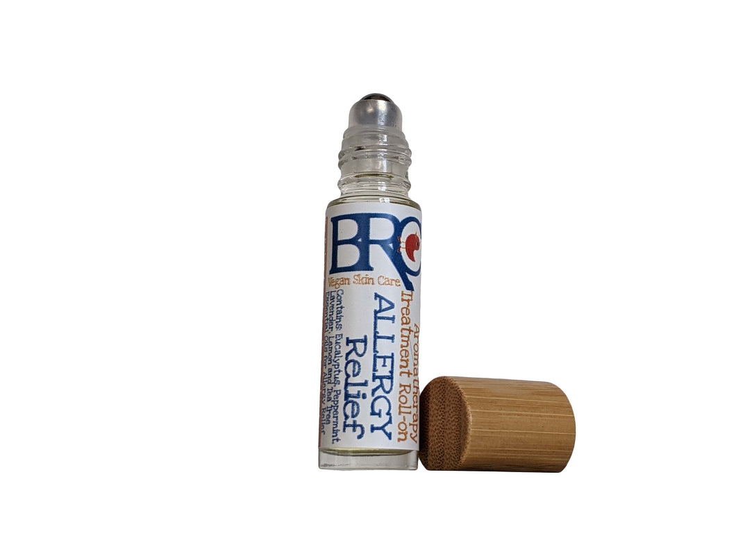 Vegan Allergy Relief Aromatherapy Roll-on for Kids & Toddlers-Essential Oil Roll On, Stuffy Nose, Aromatherapy Oil, Congestion, Allergies