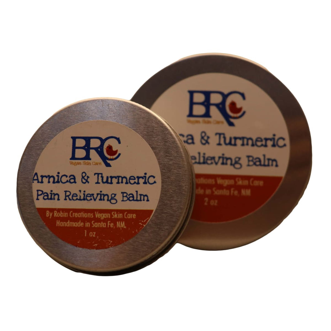Vegan Arnica & Turmeric Pain Relieving Balm