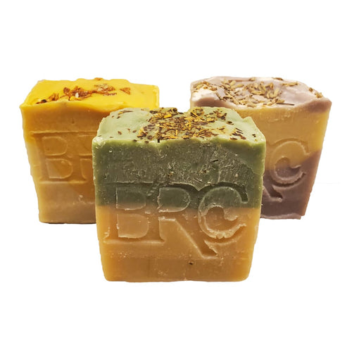 Vegan Handcrafted Natural Artisan Bar Soap - Palm Oil-Free