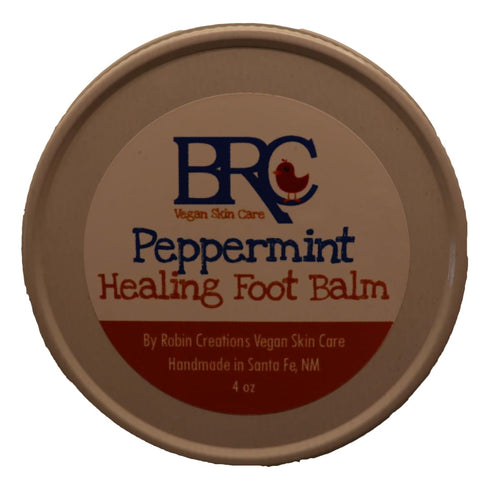 Vegan Healing Foot Balm