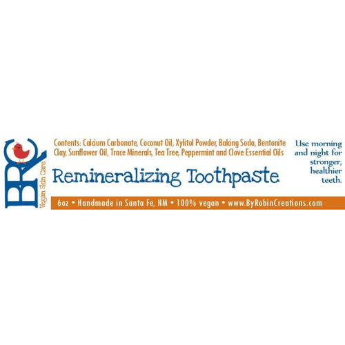 Vegan Remineralizing Toothpaste