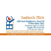 Vegan SPF 30 Sunblock Lotion Sticks