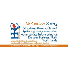 Vegan VaPoorize use before you poo Spray