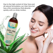 Load image into Gallery viewer, Organic Aloe Vera with Vitamin C and Peppermint Oil Large 16oz