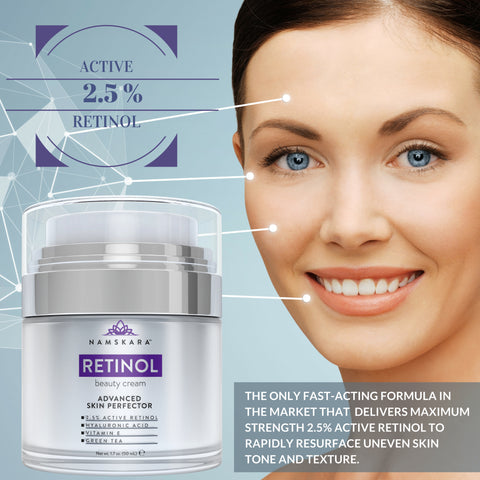 Load image into Gallery viewer, Active 2.5% Retinol Moisturizer
