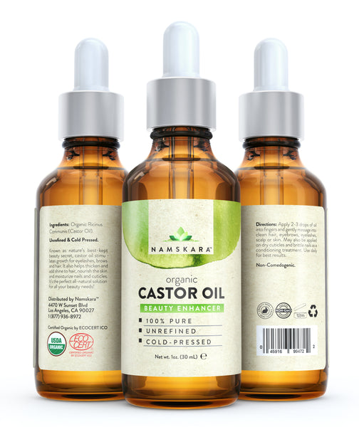 Load image into Gallery viewer, Organic Castor Oil - Nail Repair Kit