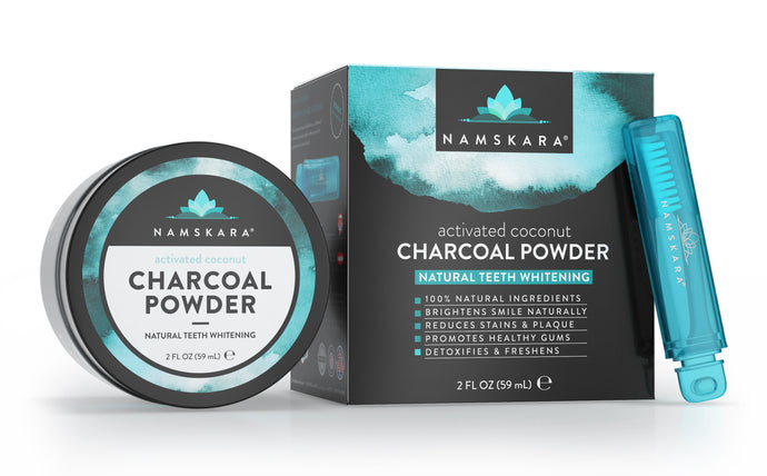 Activated Coconut Charcoal Teeth Whitening Kit