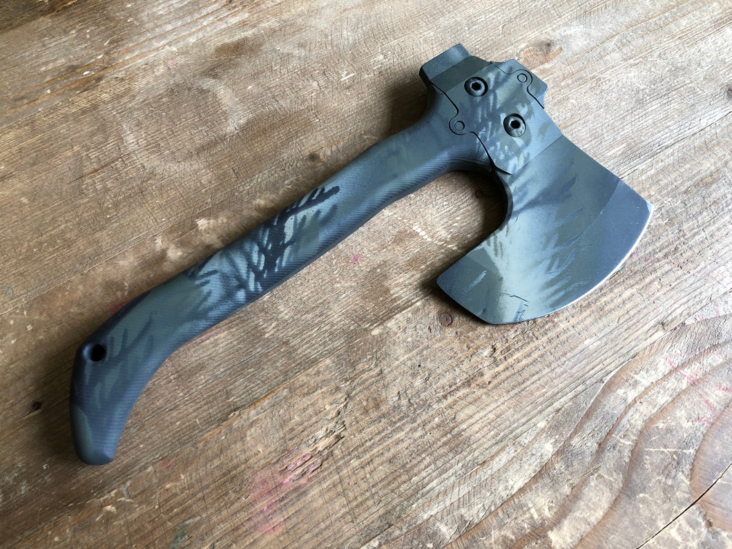 Hoback Trek Axe Selkirk Midnight Camo