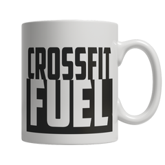 Limited Edition - Crossfit Fuel, 11oz White Mug  | Evan Mila - EvanMila.com