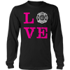 Image of Limited Edition -Firefighter Wife Love, Unisex Shirt  | Evan Mila - EvanMila.com