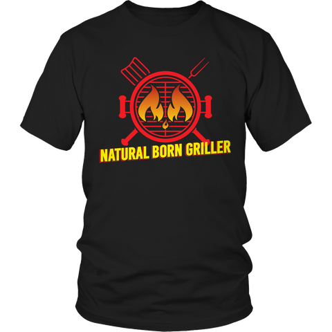 Limited Edition - Natural Born Griller 1, Unisex Shirt  | Evan Mila - EvanMila.com