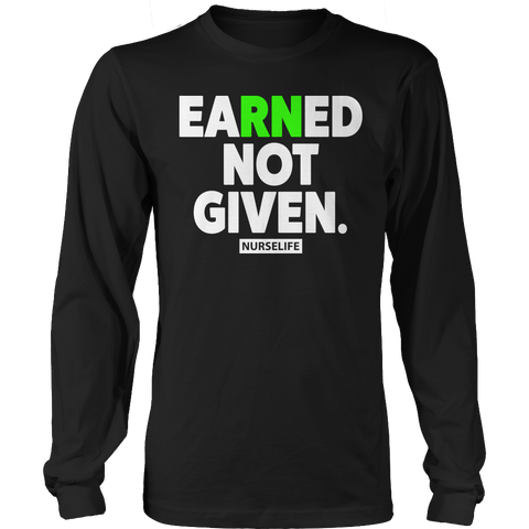 Limited Edition - Earned Not Given, Unisex Shirt  | Evan Mila - EvanMila.com