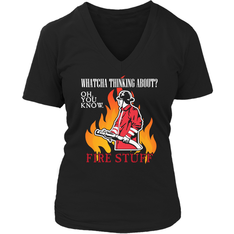 Limited Edition -  Whatcha Thinking About? Fire stuff..., Unisex Shirt  | Evan Mila - EvanMila.com