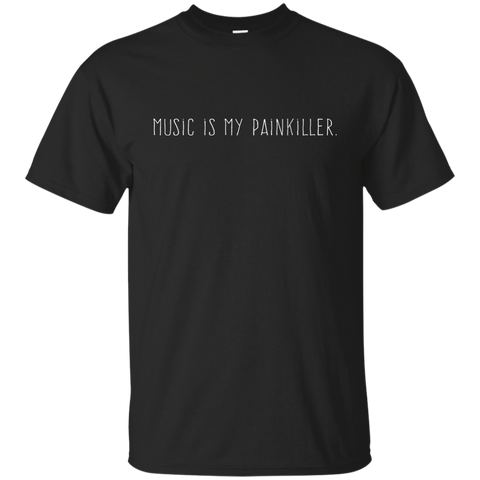 Music is my painkiller, Apparel  | Evan Mila - EvanMila.com