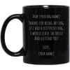 Go Find You - 11 oz. Black Mug, Drinkware  | Evan Mila - EvanMila.com