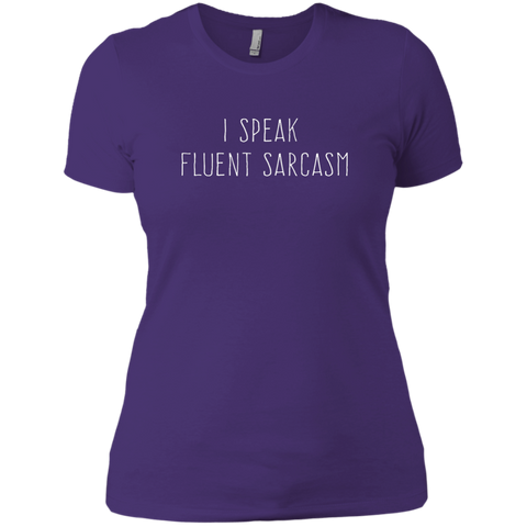 I speak fluent sarcasm, Apparel  | Evan Mila - EvanMila.com