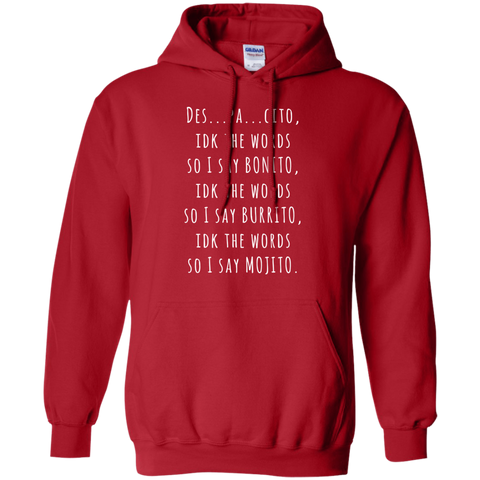 Des..pa...cito Pullover Hoodie - Limited Time Offer, Sweatshirts  | Evan Mila - EvanMila.com